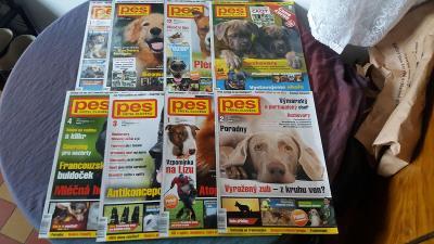 Časopisy Pes přítel člověka - 8 čísel