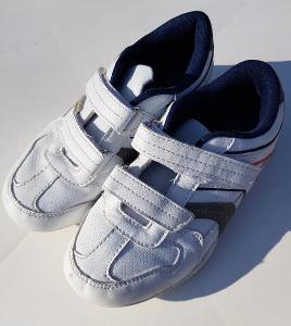 Bílé boty sportovní obuv F&F do tělocvičny vel. 33