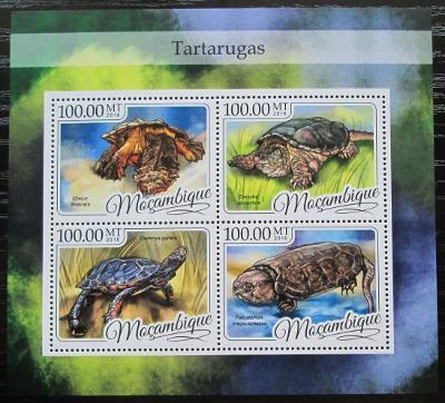 Mosambik 2016 Želvy Mi# 8789-92 Kat 22€ 2452