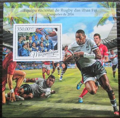 Mosambik 2016 Rugby Mi# Block 1210 Kat 20€ 2453
