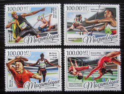 Mosambik 2016 LOH Rio de Janeiro Mi# 8864-67 Kat 22€ 2454