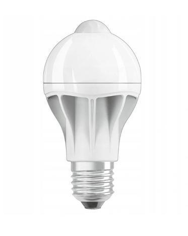 LED žárovka E27 9W = 60W 2700K SNÍMAČ POHYBU OSRAM + dárek - Zařízení