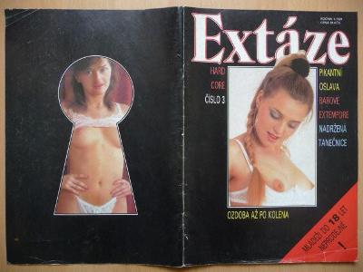 Erotický časopis - EXTÁZE - číslo 3 z roku 1991