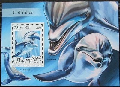 Mosambik 2016 Delfíni Mi# Block 1160 Kat 20€ 2455
