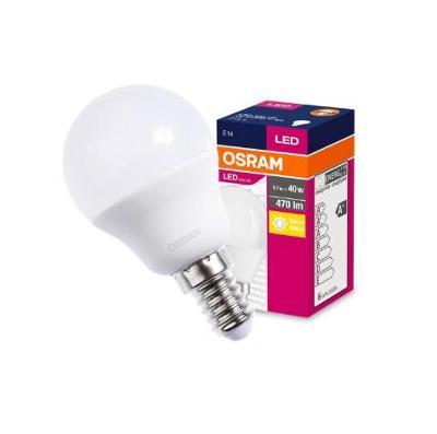 LED žárovka E14 5W 40W 470lm P40 2700K OSRAM + dárek