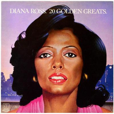 Gramofonová deska DIANA ROSS - 20 golden greats
