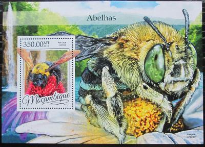 Mosambik 2016 Včely Mi# Block 1163 Kat 20€ 2455