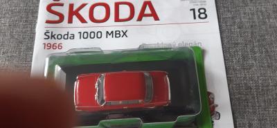 Model - 1:43 Škoda