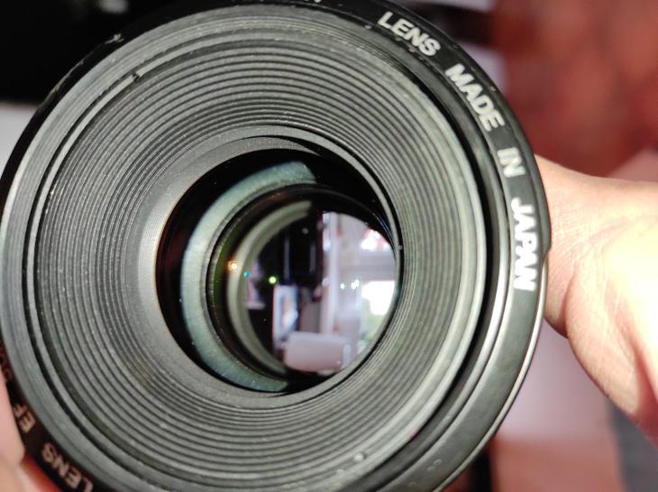 Objektiv Canon EF 50 F1,4 - Foto