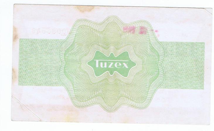 Tuzexová poukázka 10 Kčs - Bankovky