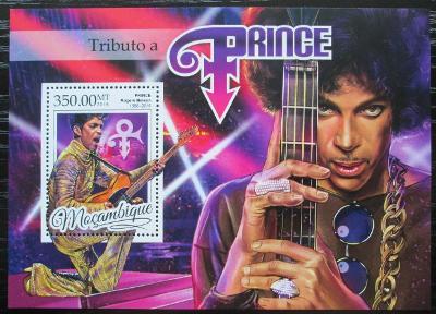 Mosambik 2016 Prince, hudebník Mi# Block 1174 Kat 20€ 2456