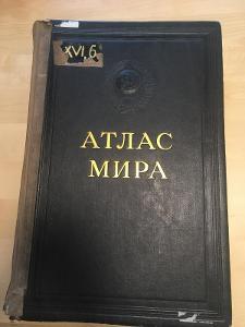 Atlas světa - SSSR 1954
