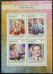 Mosambik 2016 Walt Disney Mi# 8674-77 Kat 22€ 2456