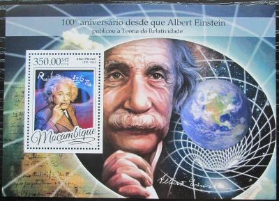 Mosambik 2016 Albert Einstein Mi# Block 1176 Kat 20€ 2456