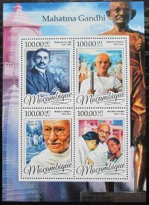 Mosambik 2016 Mahátma Gándhí Mi# 8684-87 Kat 22€ 2456