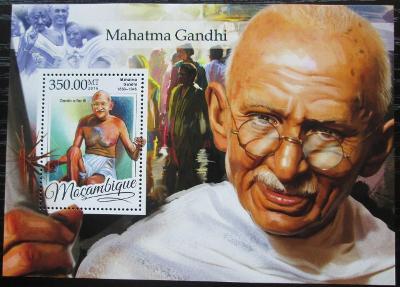 Mosambik 2016 Mahátma Gándhí Mi# Block 1177 Kat 20€ 2456