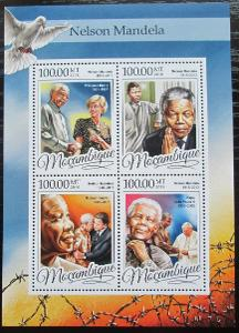 Mosambik 2016 Nelson Mandela Mi# 8689-92 Kat 22€ 2457