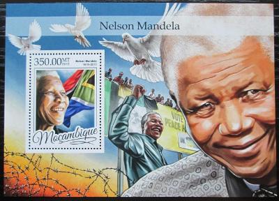 Mosambik 2016 Nelson Mandela Mi# Block 1178 Kat 20€ 2457