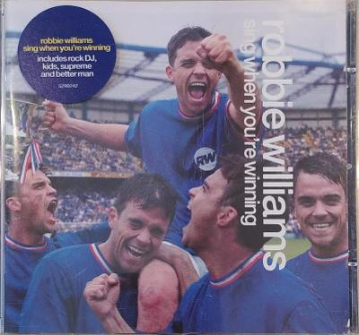 CD Robbie Williams – Sing When You're Winning