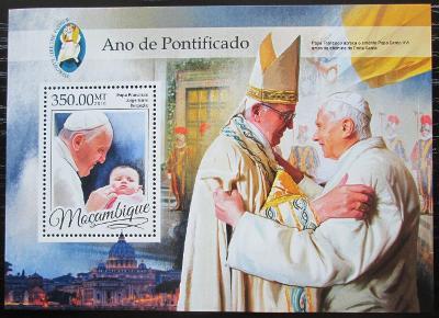 Mosambik 2016 Papež František Mi# Block 1182 Kat 20€ 2457