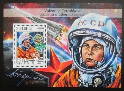 Mosambik 2016 Valentina Těreškovová Mi# Block 1183 Kat 20€ 2457