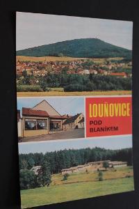 Pohlednice Louňovice pod Blaníkem.