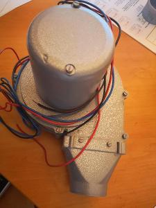 (19) Odsávací axiální ventilátor 3fázový 400V ELPROM AV 50-2  50W