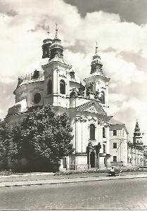 Kroměříž - Kostel sv. Jana Křtitele 3-4731++ čb
