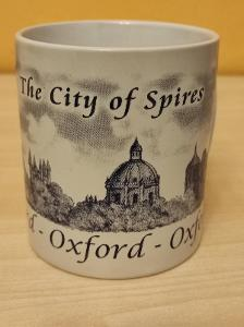 Porcelánový hrníček Oxford