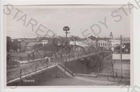 Podkarpatská Rus - Užhorod - most, AUTO