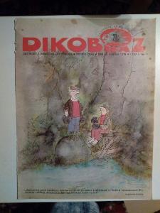 Časopis, Dikobraz, č. 21/1979, zachovalý stav