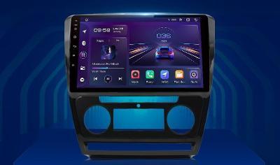 "NOVÉ 10,1"" Android AUTORÁDIO + park kamera - ŠKODA Octavia 2"