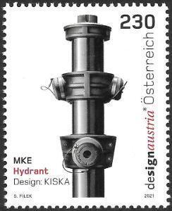 Rakousko 2021 Známky Mi 3590 ** hasiči požární hydrant