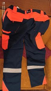 Kalhoty pracovní reflexní