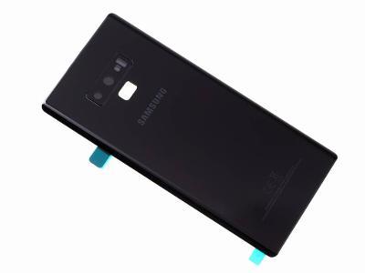 Zadní kryt baterie Samsung Galaxy Note 9 Black včetně sklíčka kamery