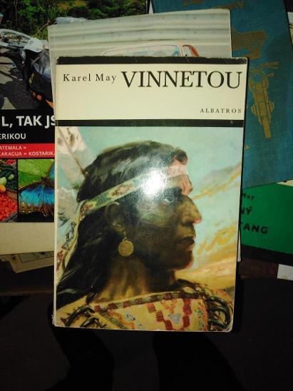 Karel May - Vinnetou - Knihy