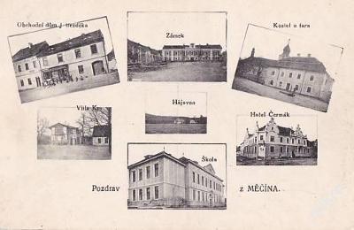 MĚČÍN - HOTEL - OBCHOD - VÍCE ZÁBĚROVÁ - 5-NX72