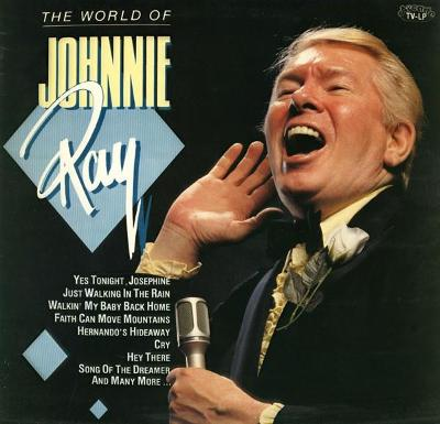 🎤 LP  Johnnie Ray – The World Of Johnnie Ray
