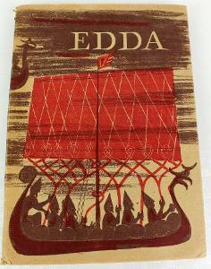 Edda - staroislandský epos, il.Antonín Strnadel, ELK 1942
