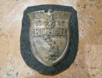 KUBAN - 1943 - III RISE - NEMECKO