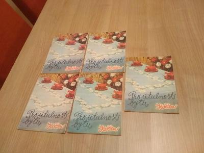 Pro útulnost bytu - ateliér Květen - staré výtisky - 5 brožurek