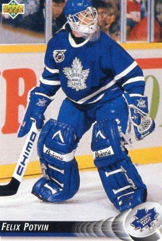 Felix Potvin - Toronto Maple Leafs - UD