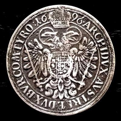 Tolar 1696 Leopold I. Král Český ,Markrabě Moravský.porazil Turky 1683
