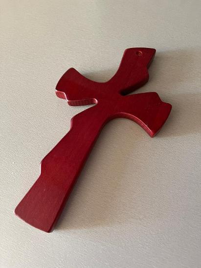 Dřevěný kříž - Zařízení