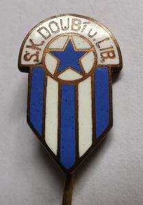 Odznak S. K. Doubí u Liberce