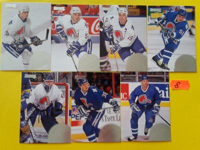 Hokejové kartičky DONRUSS1994 quebec nordigues