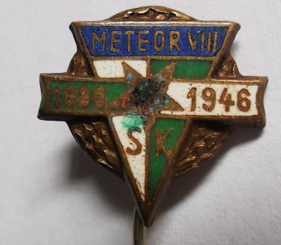Odznak S. K. Meteor VIII. 1896-1946