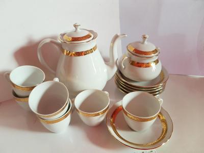 Bohemia snídaňová sada porcelánu, Made In Czechoslovakia
