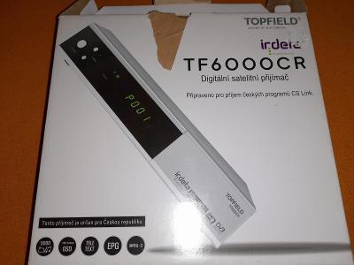 Satelitní přijímač Topfield TF6000CR