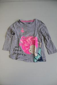 dívčí tričko s dlouhým rukávem vel 104 VÍCE V POPISU